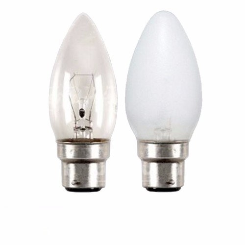 Status 40W Bayonet Cap Candle Bulb  - Click to view a larger image