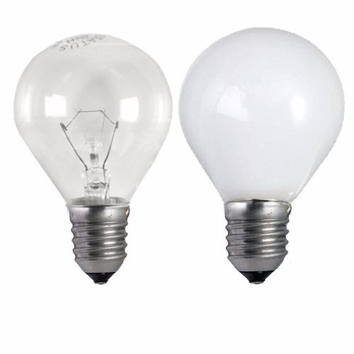 Status 25W ES E27 Incandescent Round Golf Ball Light Bulb  - Click to view a larger image