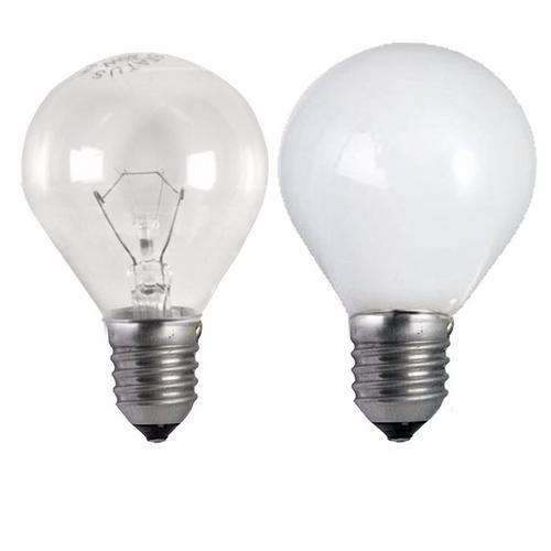 Status 40W ES E27 Incandescent Round Golf Ball Light Bulb  - Click to view a larger image