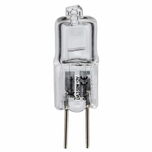 KnightsBridge GY6.35 12V 50W Warm White Clear Halogen Eco Capsule Lamp KnightsBridge 12V 50W Warm White Halogen M32 GY6.35 Capsule Bulb - Click to view a larger image