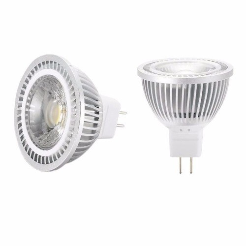 KnightsBridge 5W MR16 GU5.3 Retrofit LED Spot Light Bulb KnightsBridge MR16 LED Line Drawing - Click to view a larger image