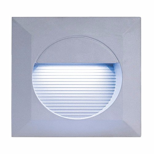 KnightsBridge IP44 Square 14 White LED Recessed Stair & Wall Guide Light KnightsBridge IP44 Square 14-LED Recessed Stair & Wall Guide Light  - Click to view a larger image