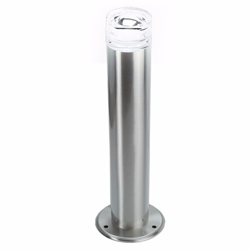KnightsBridge 1.2W IP44 LED Illuminated 500mm Stainless Steel Bollard  - Click to view a larger image