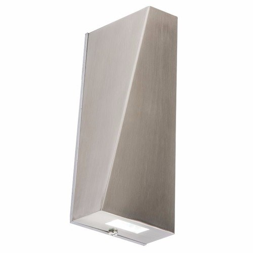 KnightsBridge 3W IP44 LED Stainless Steel Up & Down Wall Light KnightsBridge NH022W Up & Down Light LED Fitting - Click to view a larger image