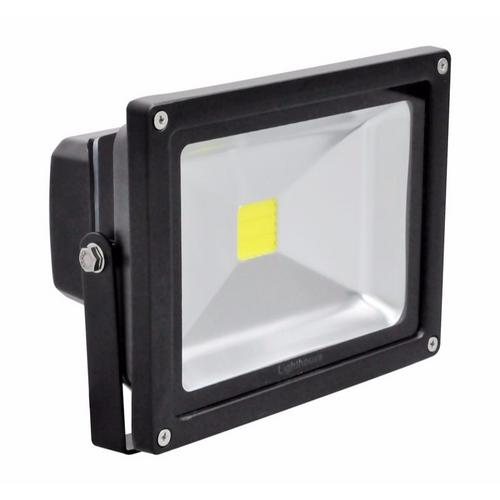 Lighthouse IP65 Ultra Efficient LED Black Aluminium Photocell Floodlight Lighthouse IP65 Ultra Efficient Grade 1 35 MIL LED Chip Floodlights With Photocell Sensor - 20W - Click to view a larger image
