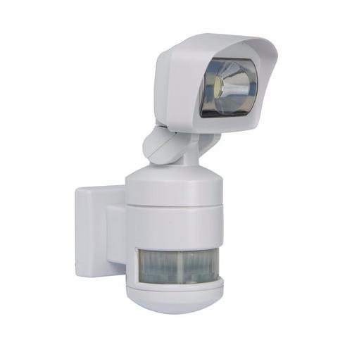 Night Watcher Robotic PIR LED Security Light - White Night Watcher Robotic AC LED CCTV Security Light White  - Click to view a larger image