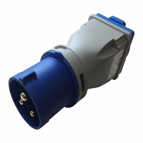 ESR 16A 2P+E Plug to 13A UK 3 Pin Socket Converter Adapter ESR 16a 2P+E industrial Socket to 13a 3 Pin Socket Power Converter Plug Adaptor - 16A plug - Click to view a larger image