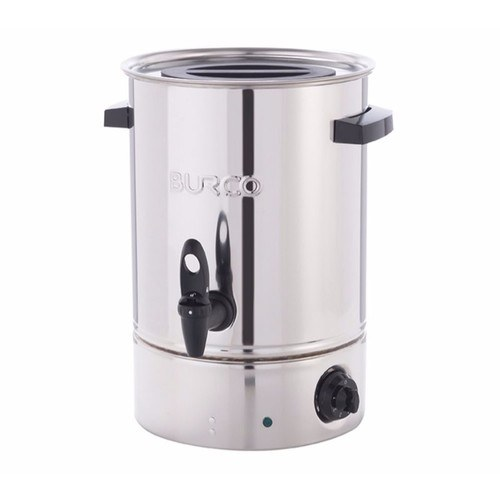 Burco 10L Electric Water Boiler - Stainless Steel Burco Manual Fill 10 Litre Water Boiler Urn - Click to view a larger image