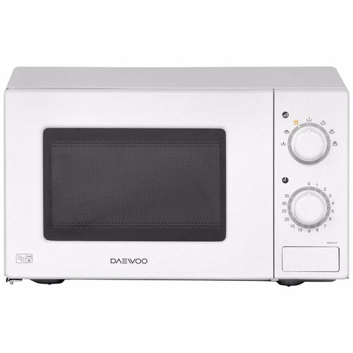 Daewoo 20 Litre White Microwave Oven