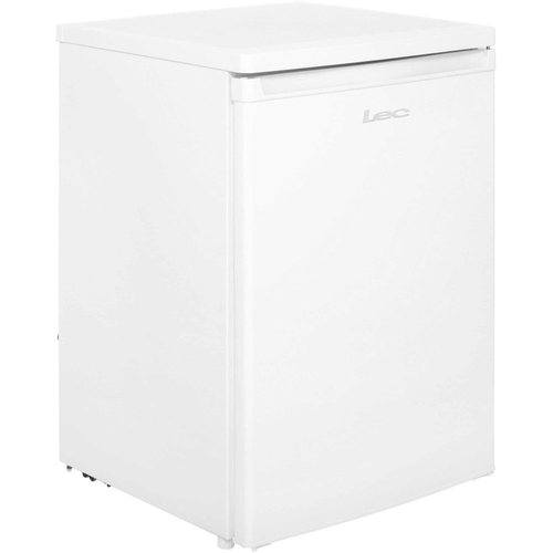 LEC White 150 Litre Under Counter Fridge LEC White 150 Litre Freestanding Under Counter Larger Refrigerator Fridge  - Click to view a larger image