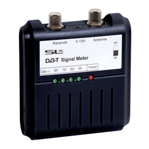 Philex SLX Digital TV Signal Strength Meter  - Click to view a larger image