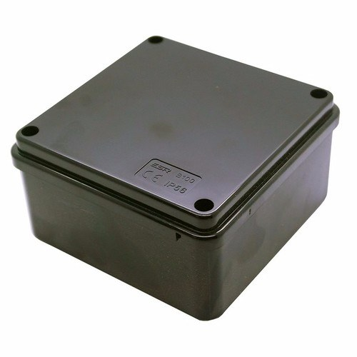 Compare cheap offers & prices of ESR 100mm IP56 Square PVC Adaptable Junction Box - Black manufactured by ESR