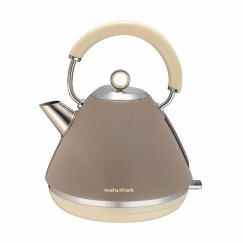 Morphy Richards Accents Pyramid Kettle - Barley Morphy Richards Accents Pyramid Kettle - Barley  - Click to view a larger image