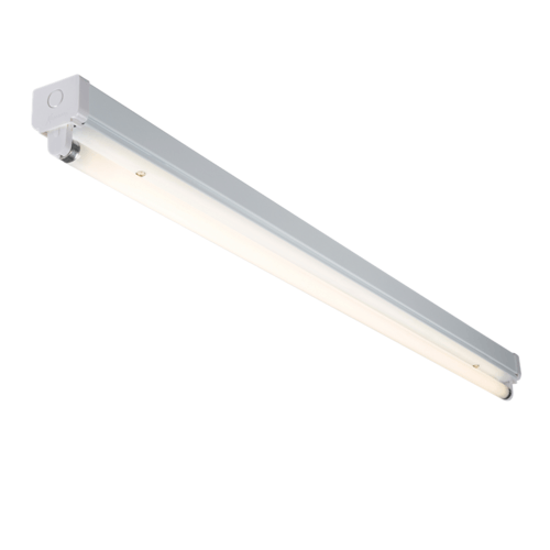 KnightsBridge T8 36W High Frequency Fluorescent Steel Batten Fitting KnightsBridge Steel High Frequency Fluorescent 36W T8 Batten Fitting - Click to view a larger image