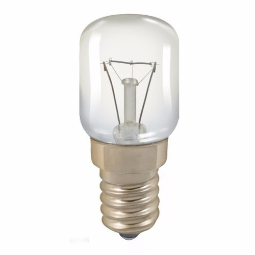 Crompton 15W Small Edison Screw 300 Degree Oven Bulb Crompton 15W Clear Finish SES Appliance Lamp - Click to view a larger image
