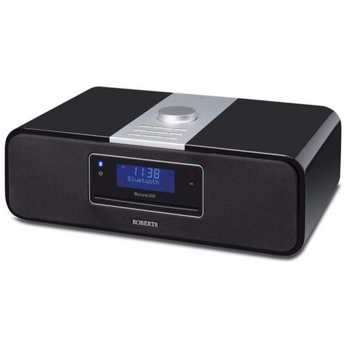 Roberts Blutune 200 Black Bluetooth DAB FM CD USB Digital Radio Sound System Roberts Blutune 200 Black Bluetooth DAB FM CD USB Digital Radio Sound System - Click to view a larger image