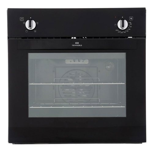 600mm Built-in Single Electric Oven Black