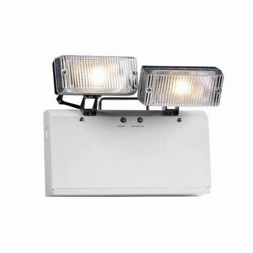 KnightsBridge IP20 Twin 3W LED Spot Emergency Light KnightsBridge IP20 2x 3W LED Twin Spot Emergency Light  - Click to view a larger image