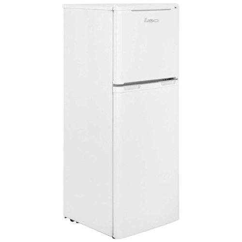 LEC White 136 Litre Refrigerator Fridge Freezer