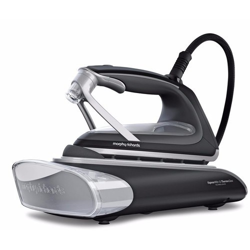 Morphy Richards ATOMiST Redefine Ceramic Glass Plate Vapour Iron Morphy Richards ATOMiST Ceramic Glass Plate Vapour Iron  - Click to view a larger image