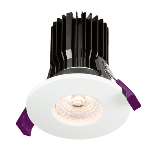 KnightsBridge IP65 Fire Rated COB LED Downlight With Adjustable Colour  - Click to view a larger image