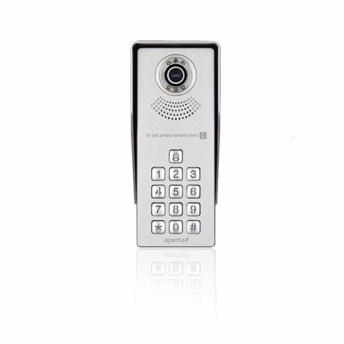 ESP Aperta MultiWay Intercom Access Control Camera With Keypad  - Click to view a larger image