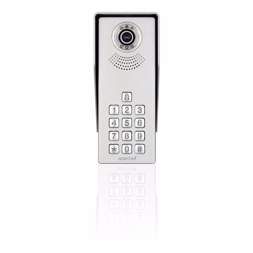 ESP Aperta Single Way Intercom Access Control Camera With Keypad Aperta Single Way Intercom Access Control Camera With Keypad - Click to view a larger image