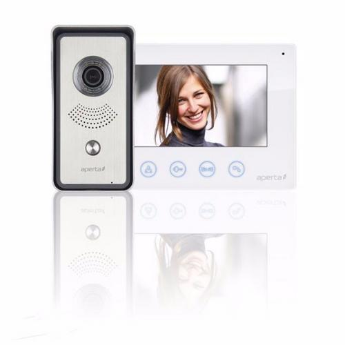 ESP Aperta Single Way Colour Video Door Entry System Kit  - Click to view a larger image