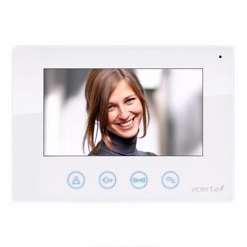ESP Aperta White Colour Video Door Entry Monitor for Multi Intercom System ESP Aperta White Colour Video Door Entry Monitor for Multi Intercom System - Click to view a larger image