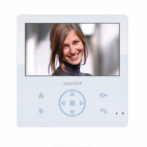 ESP Aperta Colour Video Door Entry Monitor with Record Facility - White ESP Aperta Colour Video Door Entry Monitor with Record Facility - White - Click to view a larger image