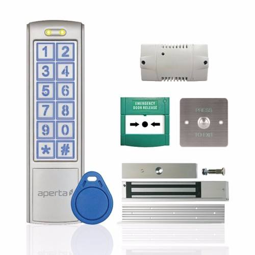 Esp Aperta Ez Tag3 Pro Proximity Key Tag Keypad Door Entry Kit