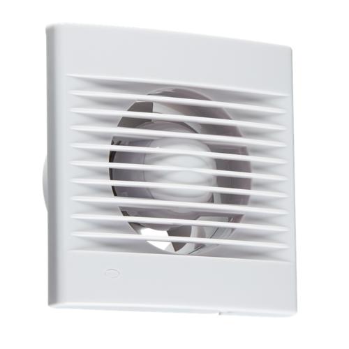 """KnightsBridge 4 Axial Wall & Ceiling Extractor Fan KnightsBridge 4"""" Axial Vent Kitchen Bathroom Wall & Ceiling Extractor Fan  - Click to view a larger image"""
