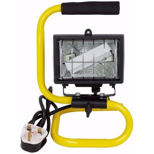 Status Portable Handheld 120W Halogen Work Inspection light Portable Halogen Work Light - Click to view a larger image