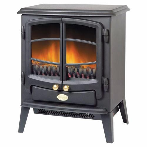 Dimplex Tango 2kW Electric Fan Heater Stove in Black With Optiflame Dimplex Tango 2kW Electric Fan Heater Stove in Black With Optiflame