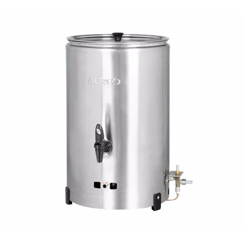 Burco Deluxe 20L Propane Gas Water Boiler - Stainless Steel  - Click to view a larger image