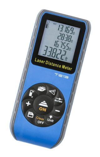 KnightsBridge Compact Digital Laser 60m Distance Meter Compact Digital Laser 60m Distance Meter - Click to view a larger image