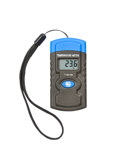 KnightsBridge Digital Mini Temperature Meter With Lanyard Strap  - Click to view a larger image