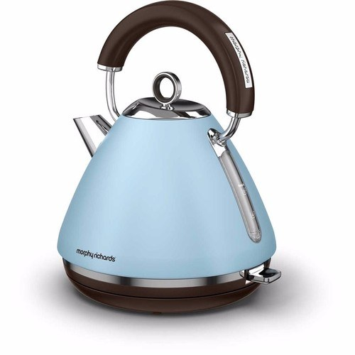 Morphy Richards Accents Pyramid Kettle Special Edition - Azure Morphy Richards Accents Pyramid Kettle Special Edition - Azure