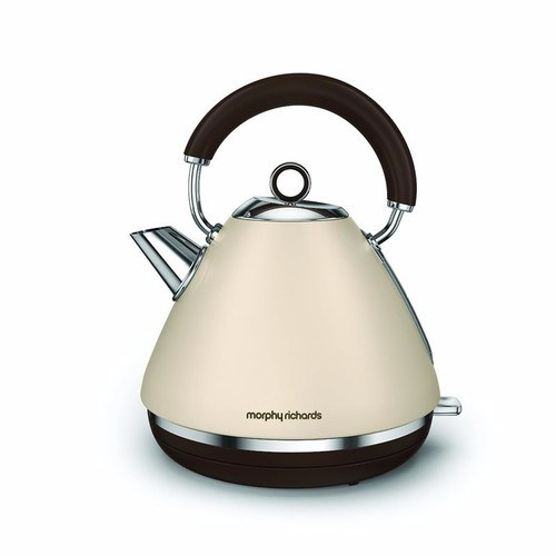 Morphy Richards Accents Pyramid Kettle Special Edition - Sand Morphy Richards Accents Pyramid Kettle Special Edition - Sand - Click to view a larger image