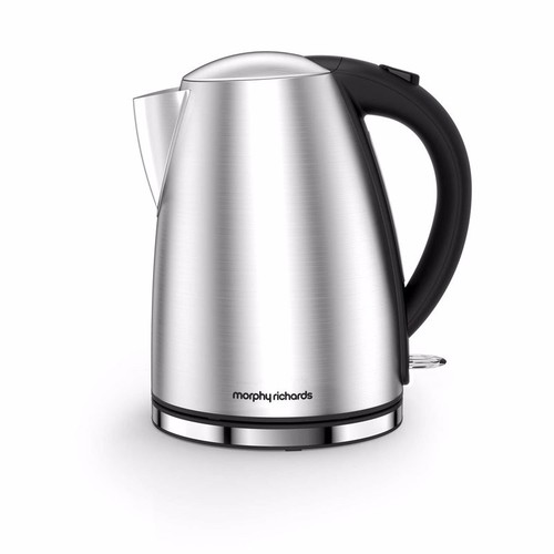 Morphy Richards Accents Jug Kettle - Brushed Stainless Steel Morphy Richards Accents Jug Kettle - Brushed Stainless Steel - Click to view a larger image