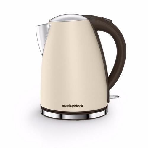 Morphy Richards Accents Jug Kettle - Sand Morphy Richards Accents Jug Kettle - Sand - Click to view a larger image