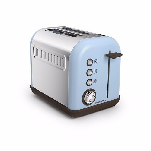 Morphy Richards Azure Blue Accents 2 Slice Toaster Morphy Richards Accents 2 Slice Toaster - Azure - Click to view a larger image