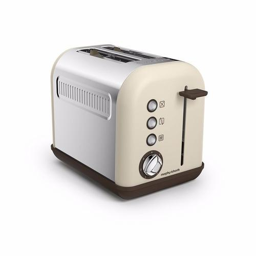 Morphy Richards Accents 2 Slice Toaster - Sand Morphy Richards Accents 2 Slice Toaster - Sand - Click to view a larger image