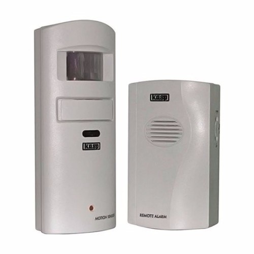 Kasp Wireless PIR Detector Garage & Shed Intruder Alarm Kasp Wireless PIR Detector Garage & Shed Intruder Alarm  - Click to view a larger image