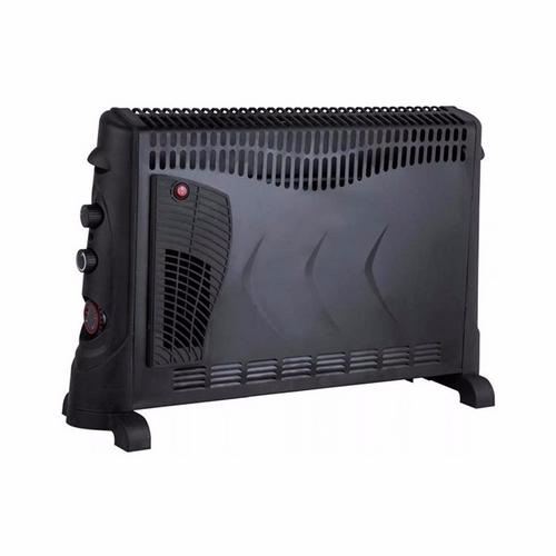 Kingavon Electric Convector Heater With Turbo Fan & 24h Timer- Black Kingavon Electric Convector Heater With Turbo Fan & 24h Timer- Black - Click to view a larger image