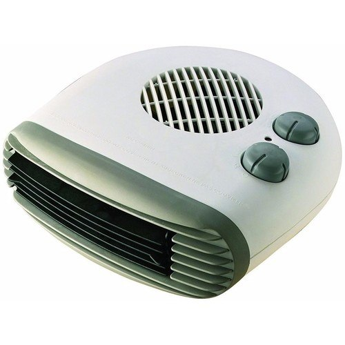 Kingavon 2kW Portable Flat Fan Heater