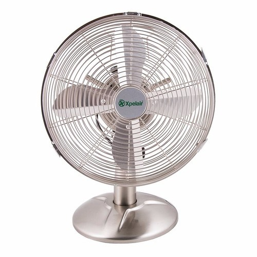 Compare prices for Xpelair Classic 12 Portable Desk Fan - Brushed Chrome