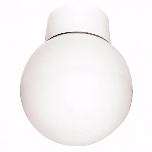 Eterna 60W Bathroom Globe Opal Glass Ceiling Light Eterna Small Ceiling Globe Fitting - Click to view a larger image