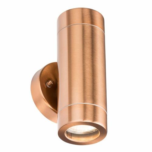 KnightsBridge Fixed IP65 Copper Indoor Outdoor Double Wall Light KnightsBridge Fixed IP65 Copper Indoor Outdoor Double Wall Light - Click to view a larger image