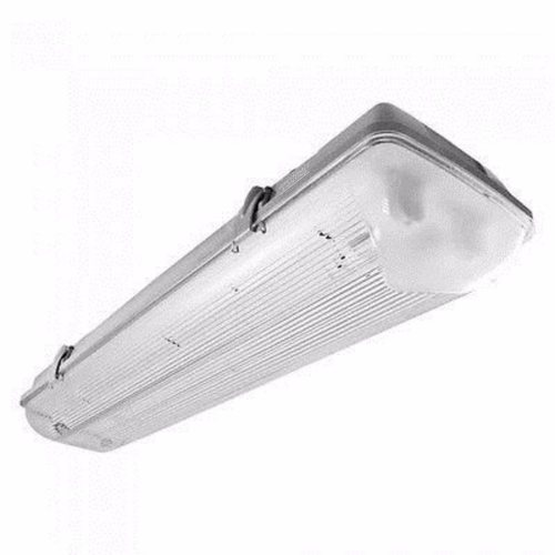 Compare prices for Greenhall Lighting Twin T8 LED 22W 240V Low Energy Weatherproof Fitting